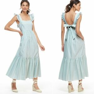 Gal Meets Glam Jasmine Pinstripes Dress